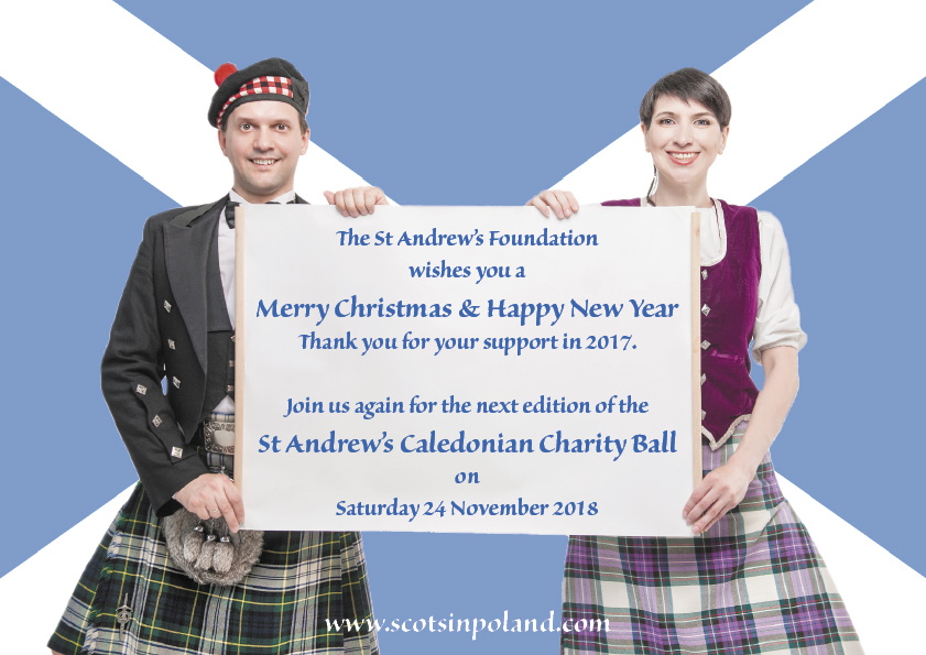 Thank you for your support in 2017, join us again for the St Andrew's Caledonian Charity Ball 2018