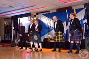 Organisers (L-R) - Mark Sutherland, Norrie Sinclair, Paul Gogolinski, Sandy McMillan, Iain Leyden