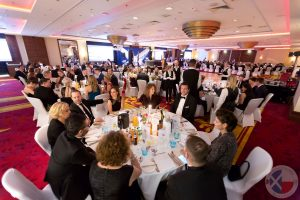 Almost 300 guests enjoyed a taste of Scotland